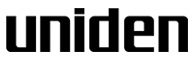 Uniden - Bateria Radio
