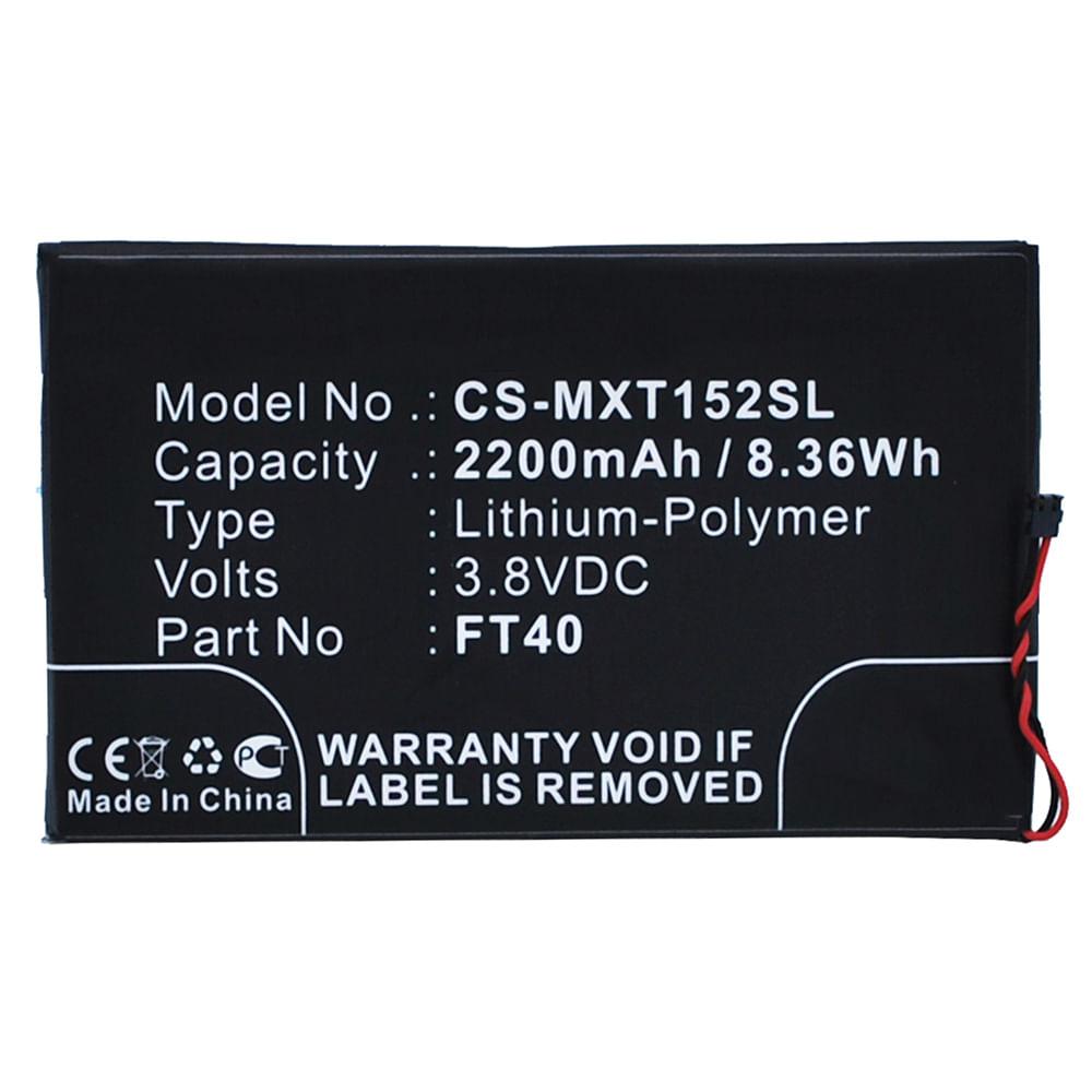 Bateria para Smartphone Motorola SNN5955A