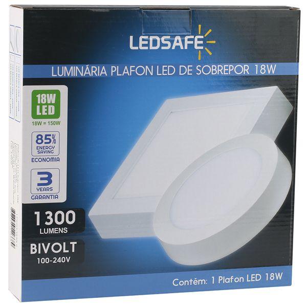 Luminaria-Plafon-18w-LED-Sobrepor-Branco-Quente-4