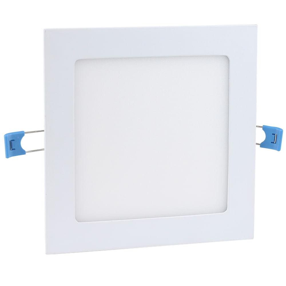 Luminaria-Plafon-12w-LED-Embutir-Branco-Frio-1