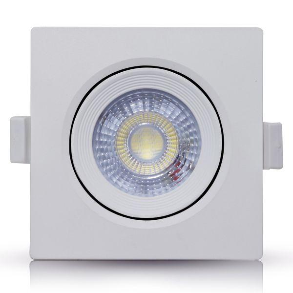 Spot-LED-Embutir-7W-Quadrado-|-Ledsafe®---Luz-Branca---6000K-1