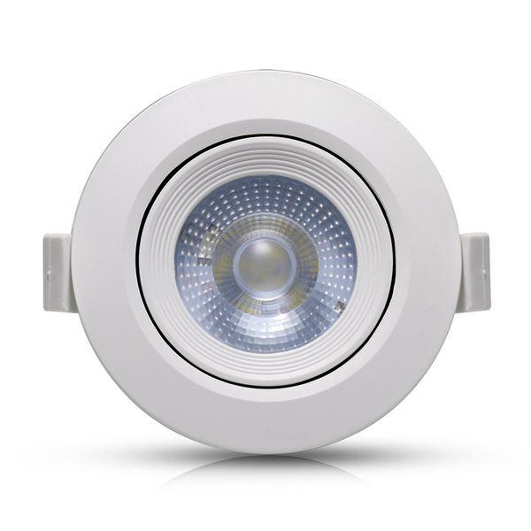 Spot-LED-Embutir-7W-Redondo- -Ledsafe®---Luz-Amarela---3000K-1