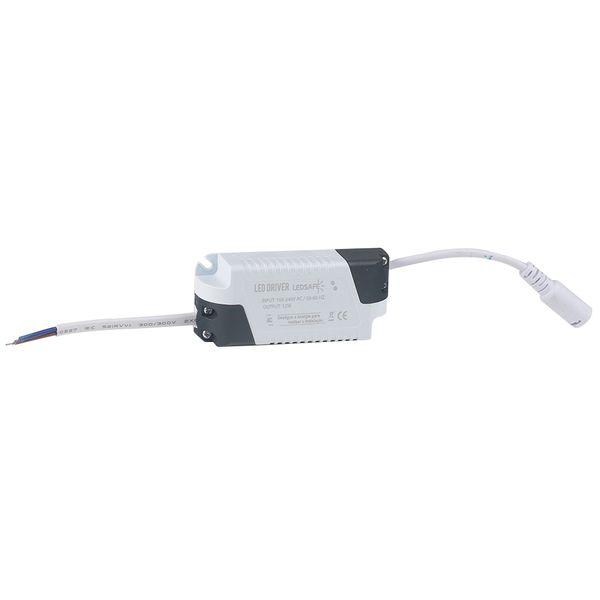 Luminaria-Plafon-12w-LED-Embutir-Redonda-Branco-Quente-3