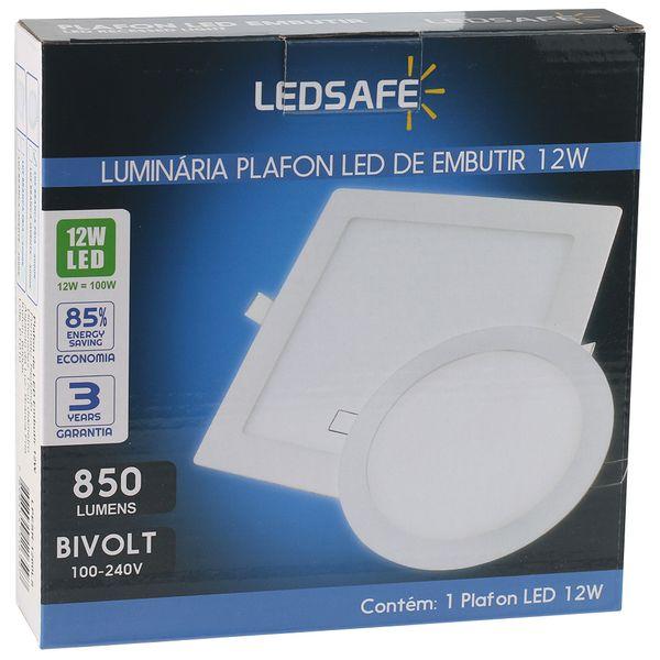 Luminaria-Plafon-12w-LED-Embutir-Redonda-Branco-Frio-4