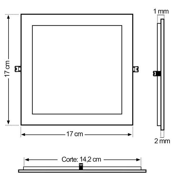 Luminaria-Plafon-12w-LED-Embutir-Branco-Quente-05
