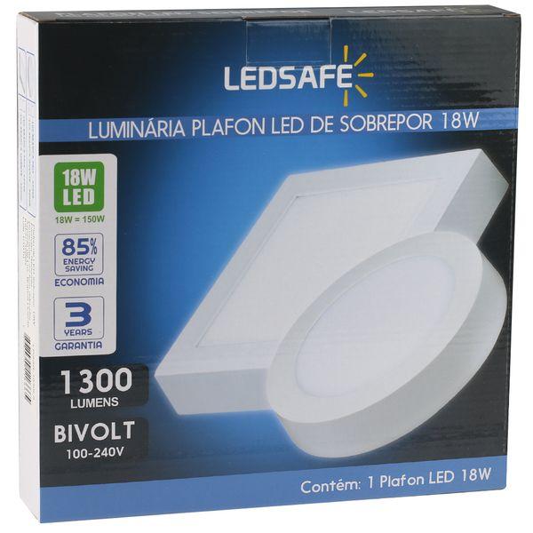 Luminaria-Plafon-18w-LED-Sobrepor-Redonda-Branco-Quente-4