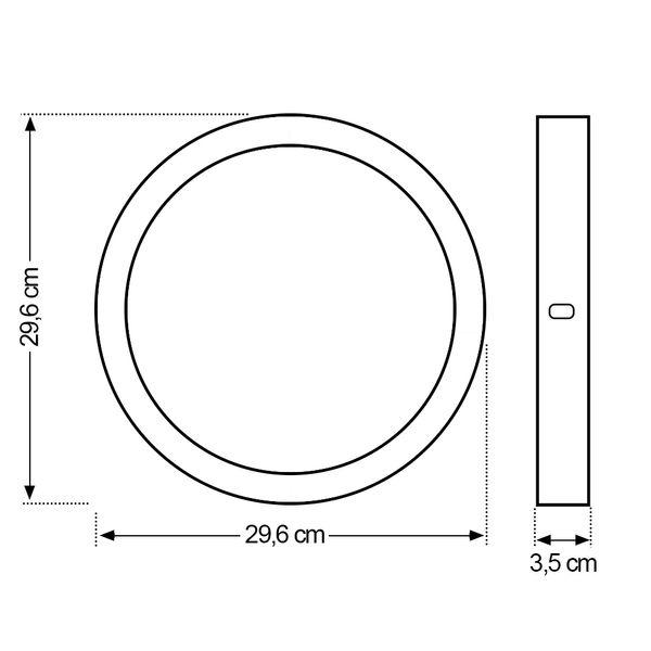 Luminaria-Plafon-LED-de-Sobrepor-24W-Redondo-Branco-Quente-05