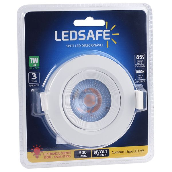 Spot-LED-Embutir-7W-Redondo-Ledsafe-Luz-Amarela-3000K-03