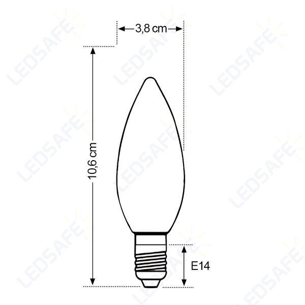 Lampada-LED-Vela-Ultraled-Transparente-3W-E14-Bivolt-Golden®-Luz-Amarela-2.700K-003
