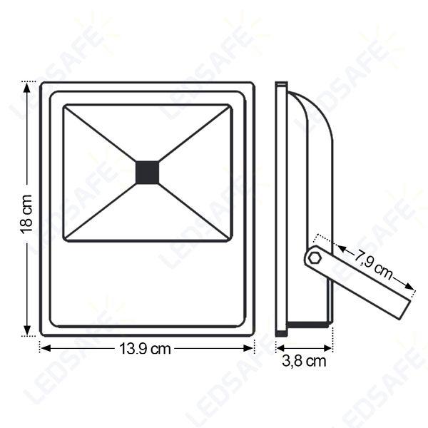 Ledsafe®---Refletor-LED-20W-Verde-Bivolt-03