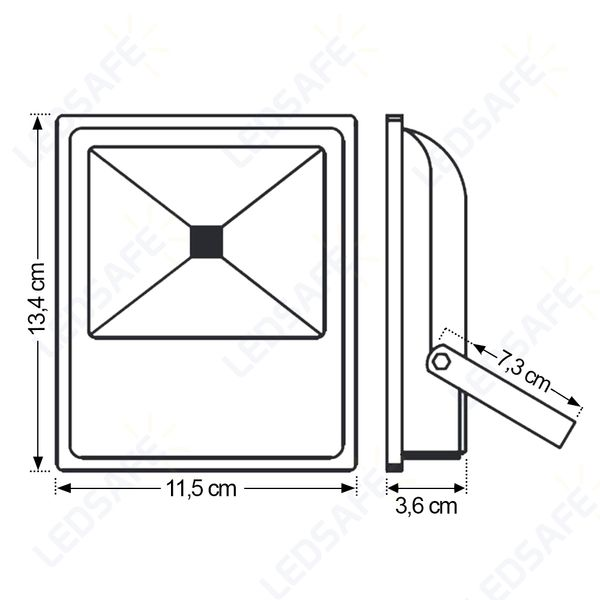Ledsafe®---Refletor-LED-10W-RGB-Automatico-Bivolt-3