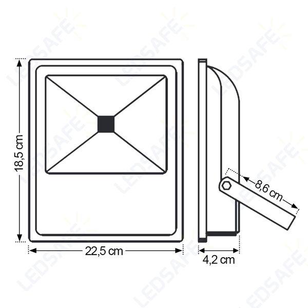 Ledsafe®---Refletor-LED-30W-RGB-Automatico-Bivolt-3