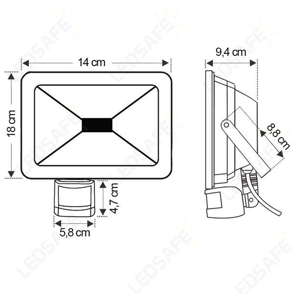 Ledsafe®---Refletor-LED-20W-C-Sensor-Bivolt-|-Branco-Frio--6000K--3