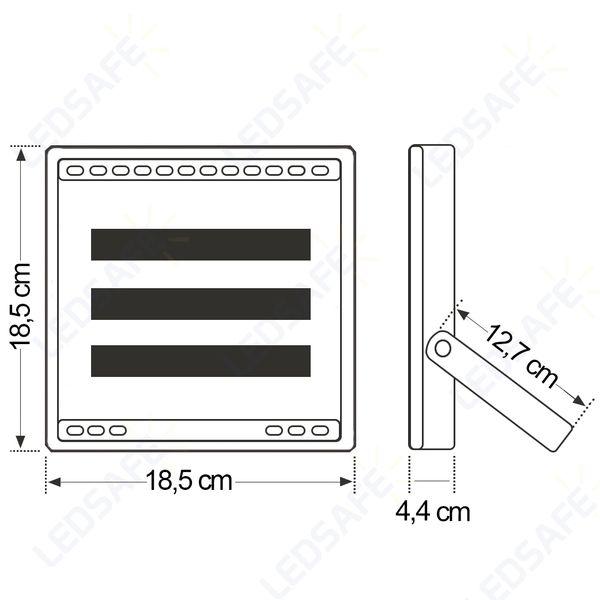 Ledsafe®---Refletor-LED-50W-Performance-|-Branco-Frio--6000K--3