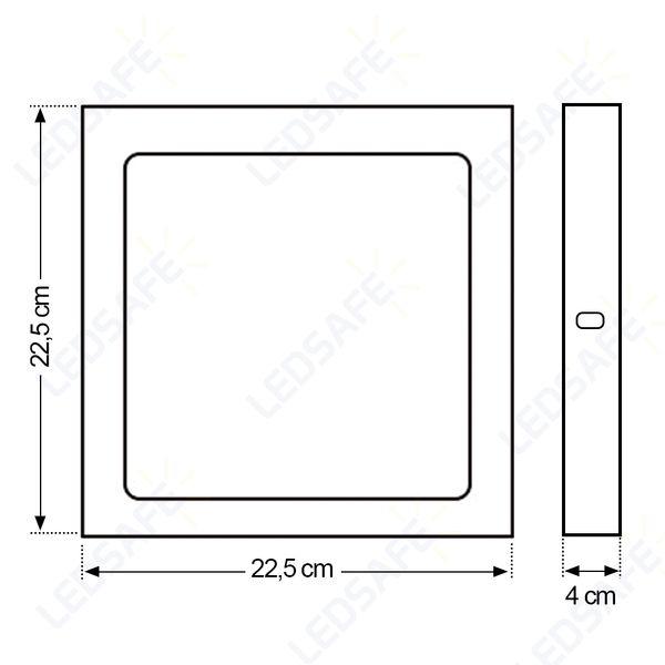 Luminaria-Plafon-18w-LED-Sobrepor-Branco-Quente-5
