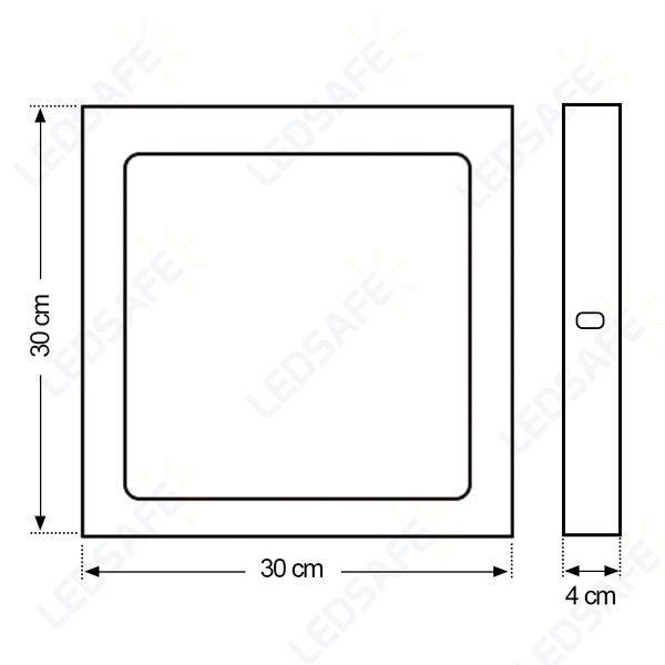 Luminaria-Plafon-25W-LED-Sobrepor-Branco-Quente-5