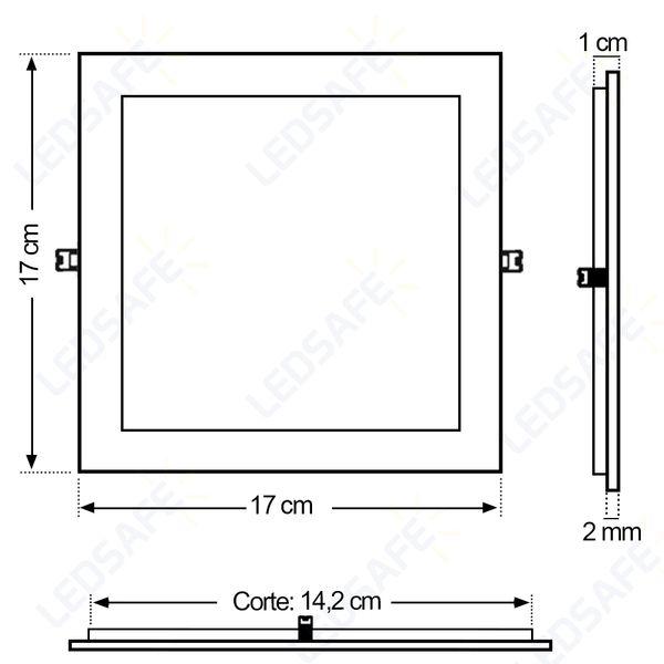 Luminaria-Plafon-12w-LED-Embutir-Branco-Frio-2