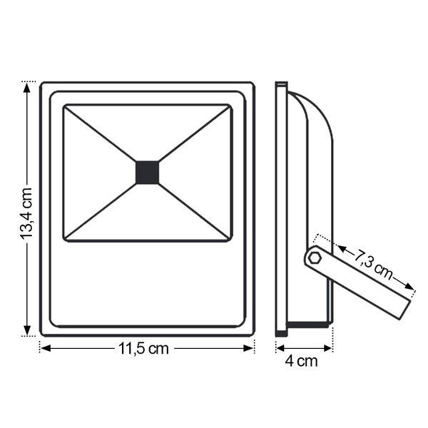 Ledsafe®---Refletor-LED-10W-Verde-Bivolt-3