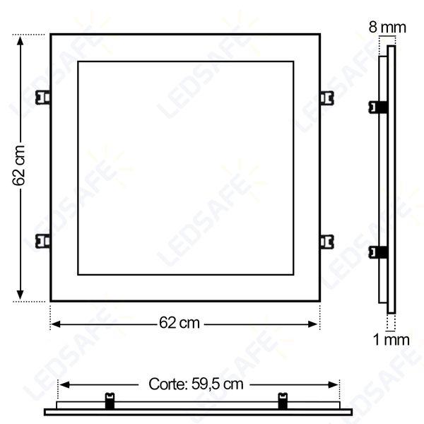 Luminaria-Plafon-Embutir-50W-Quadrado-62x62cm-Branco-Neutro-REY-2