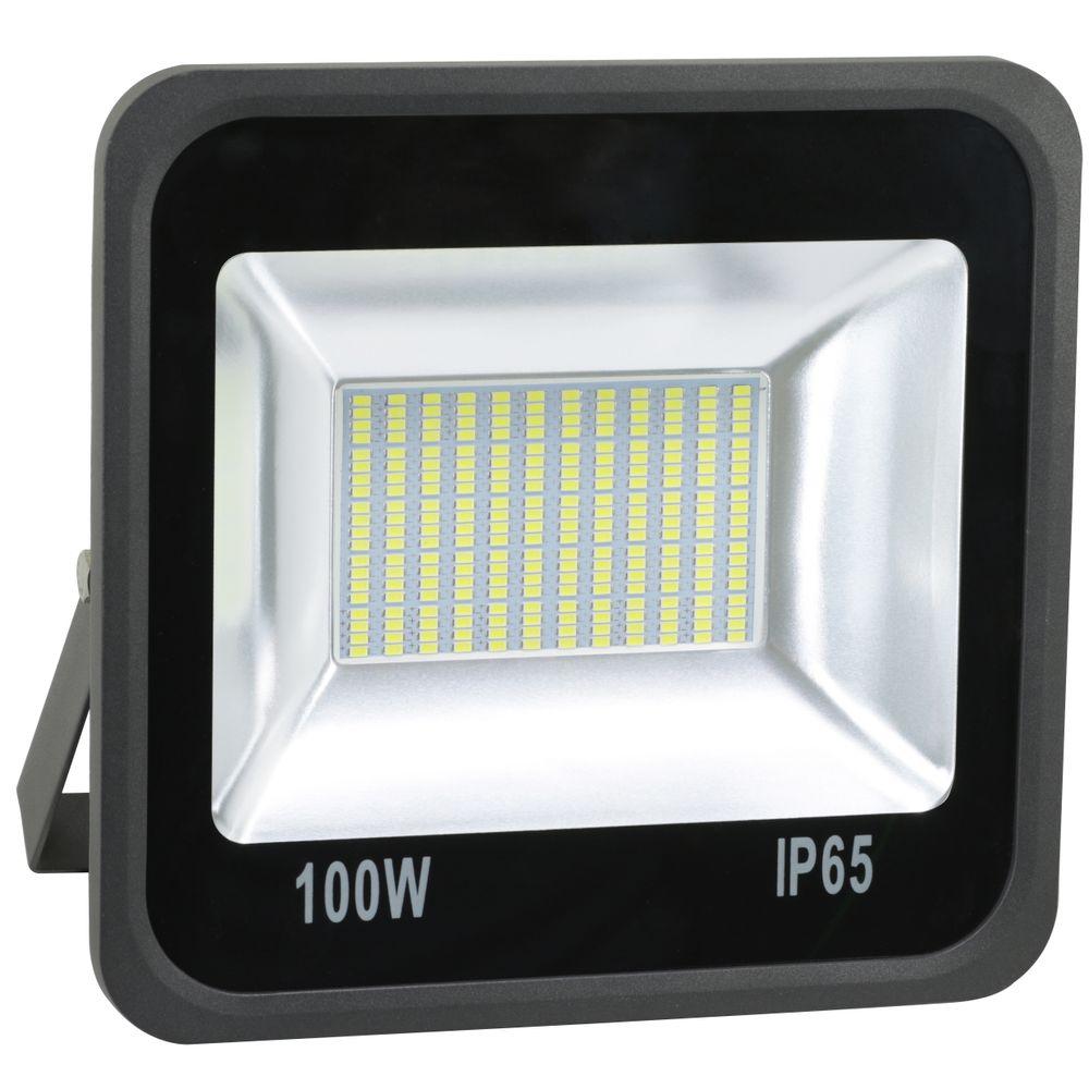 Refletor-de-LED-100W-SMD-Preto---Luz-Branca-Fria-6000K--Ledsafe®-1