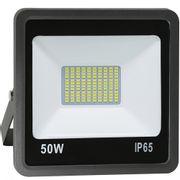 Refletor-de-LED-50W-SMD-Preto---Luz-Branca-Fria-6000K-Ledsafe®-1