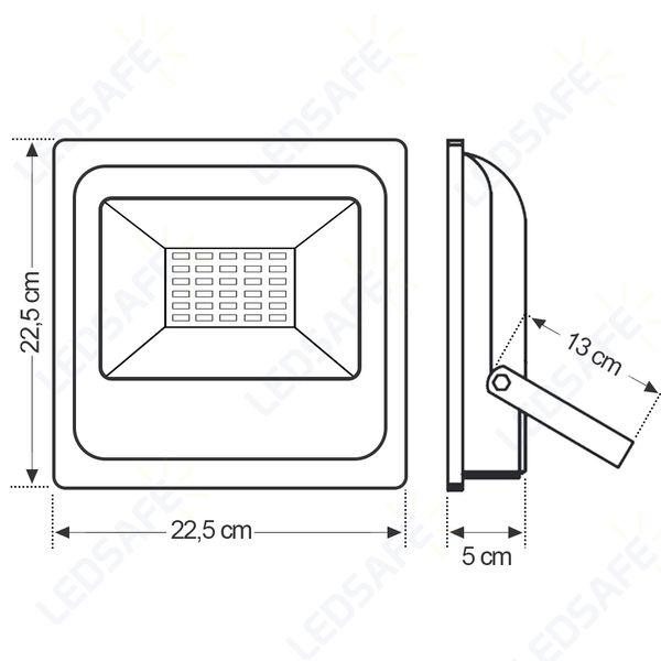 Refletor-de-LED-50W-SMD-Branco---Luz-Branca-Fria-6000K-Ledsafe®-03