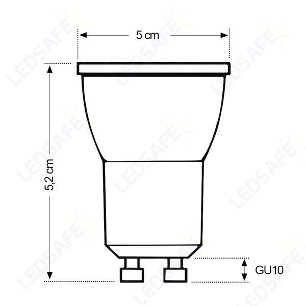 Lampada-LED-Dicroica-32W-Cristallux-LED-Bivolt-GU10-Branco-Quente-3000K-4