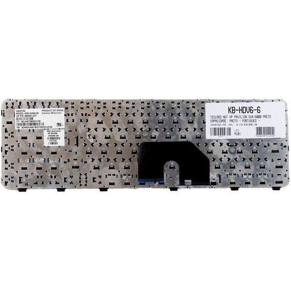 Teclado-para-Notebook-HP-Pavilion-DV6-6007tu-2