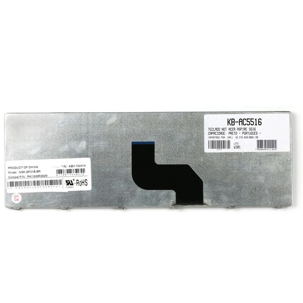 Teclado-para-Notebook-Gateway-EC58-2