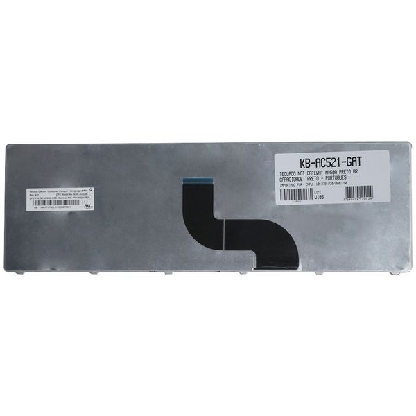Teclado-para-Notebook-Gateway-NV79C27u-2