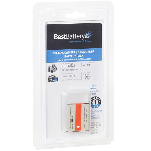 Amazon. Com: bp 2 pack replacement battery nb-11l, nb-11lh.