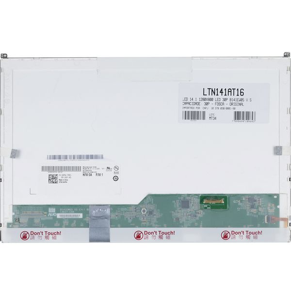 Tela-14-1--Led-LTN141AT16-B02-para-Notebook-4