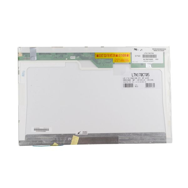 Tela-Notebook-Sony-Vaio-VGN-AR270S1---17-0--Full-HD-CCFL-3