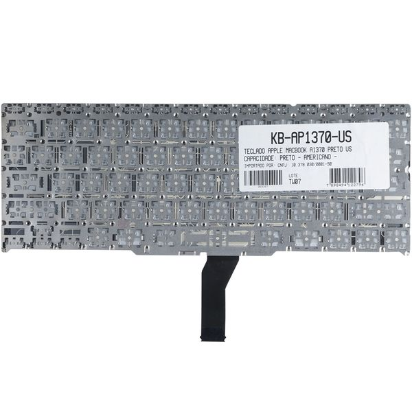 Teclado-para-Notebook-Apple-MacBook-Air-MD711lla-Mid-2011-2