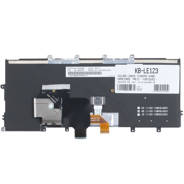 Teclado-para-Notebook-Lenovo-ThinkPad-X250-20CL005mbr-2