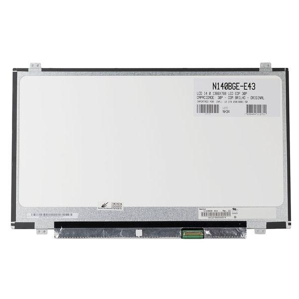 Tela LCD para Notebook HP EliteBook Folio 1040 G2 - 14 0 pol