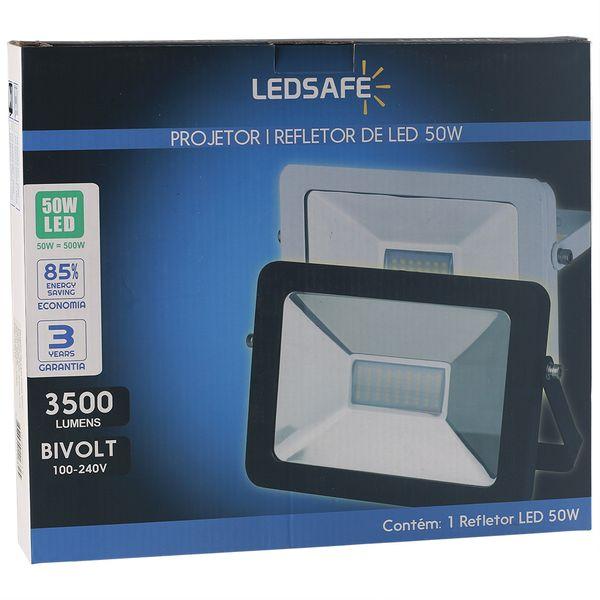 Ledsafe®---Refletor-LED-50W-Design-Preto-|-Branco-Frio--6000K--3