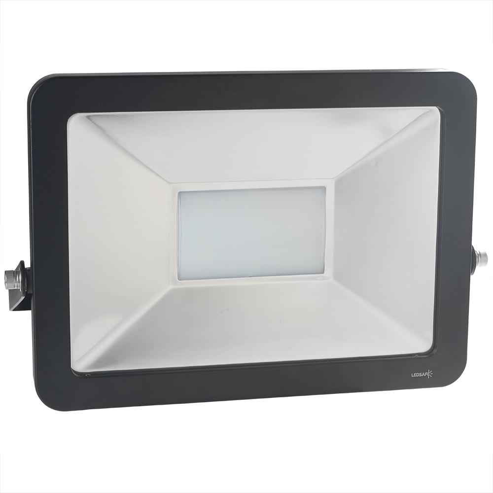 Ledsafe®---Refletor-LED-100W-Design-Preto-|-Branco-Frio--6000K--1