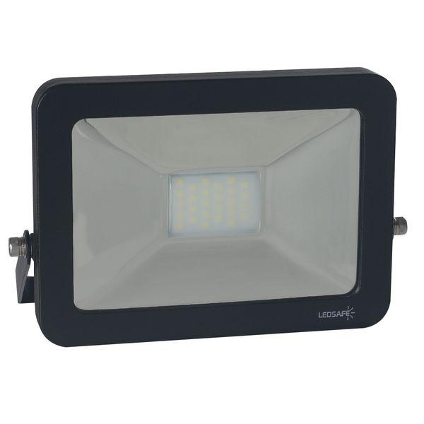 Ledsafe®---Refletor-LED-30W-Design-Preto-|-Branco-Frio--6000K--1