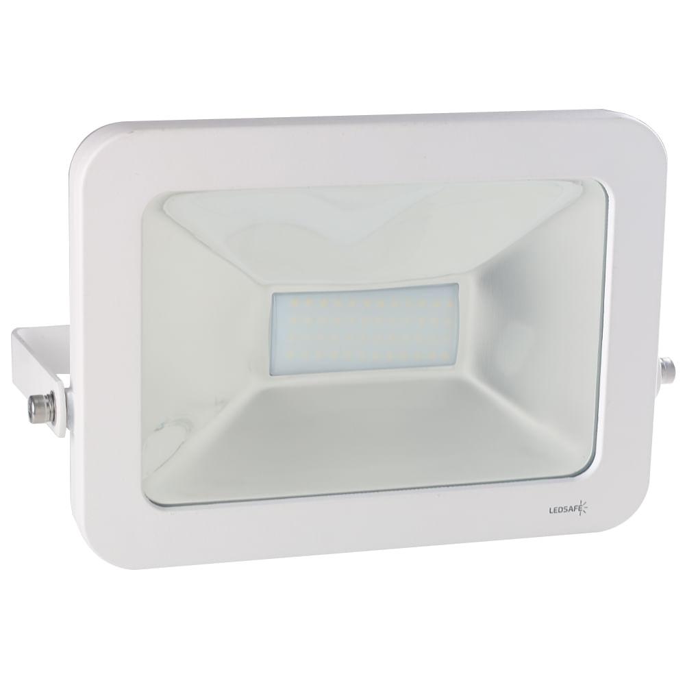Ledsafe®---Refletor-LED-50W-Design-Branco-|-Branco-Frio--6000K--1