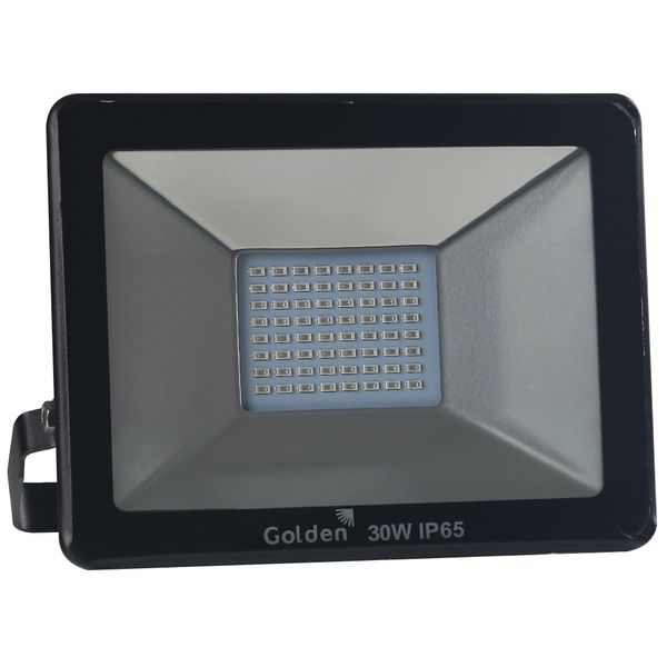 Refletor-de-LED-Slim-30W-Golden-Bivolt-Ultra-LED-SMD---Verde-1
