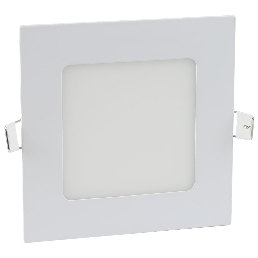 Luminaria-Plafon-LED-de-Embutir-6W-Quadrada-Branco-Frio-Ultra-LED-|-Cristallux®-1