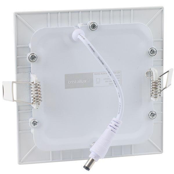 Luminaria-Plafon-LED-de-Embutir-6W-Quadrada-Branco-Frio-Ultra-LED-|-Cristallux®-2