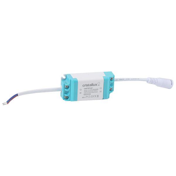 Luminaria-Plafon-LED-de-Embutir-6W-Quadrada-Branco-Frio-Ultra-LED-|-Cristallux®-3