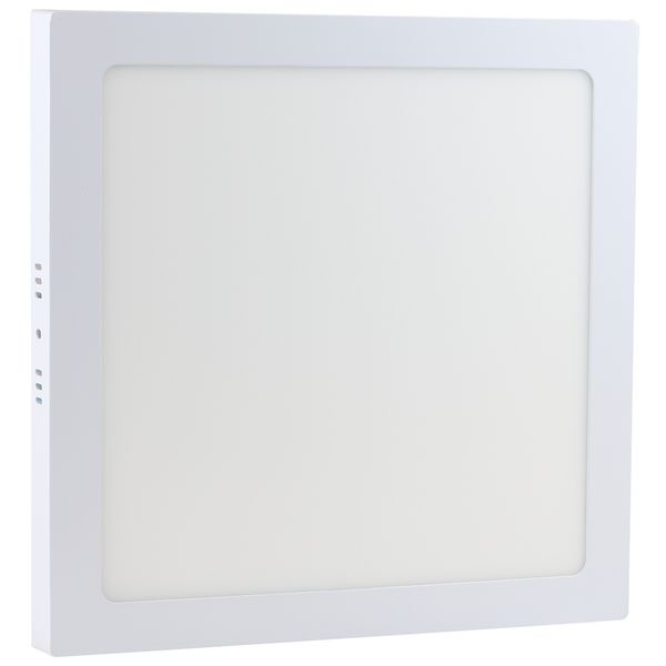 Luminaria-Plafon-LED-de-Sobrepor-24W-Quadrada-Branco-Quente-Ultra-LED-|-Cristallux®-1