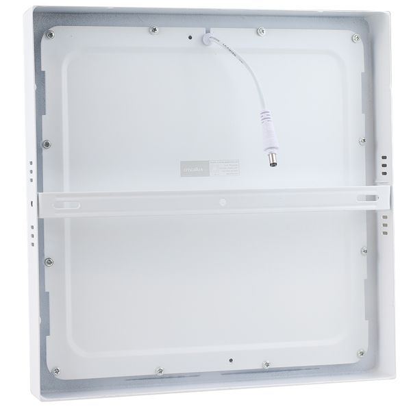 Luminaria-Plafon-LED-de-Sobrepor-24W-Quadrada-Branco-Quente-Ultra-LED-|-Cristallux®-2
