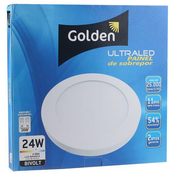 Luminaria-Plafon-LED-de-Sobrepor-24W-Redondo-Branco-Frio-Ultra-LED-|-Golden®-4